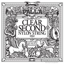 Ernie Ball String Guitar 2nd Nylon Clear 1502ST