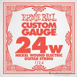 Ernie Ball String Guitar .024 Nickel Wound 1124ST