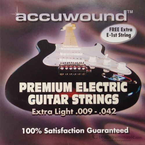 Accuwound strings Guitar Extra Light AC009EX