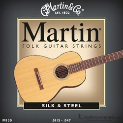 Martin Strings Guitar Folk M130
