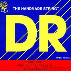DR Strings Guitar Pure Blues Medium 2PHR10