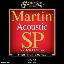 Martin Strings SP Phosphor Bronze Light MSP4100