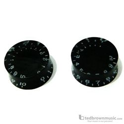 Retro Parts Knobs LP Speed Knobs 2 Pack Black RP219B