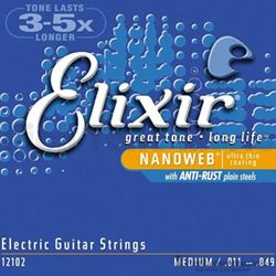Elixer Strings Guitar Nano Medium 12102