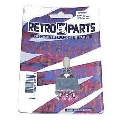 Retro Parts Switch 3 Way with White Cap RP180W