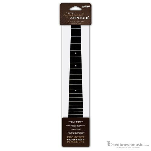 D'Addario Fret Applique Tactile Black Violin DFAS286