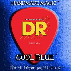 DR CBE-10 Cool Blue Medium Coated Electric Guitar Strings 10-46