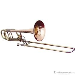 Getzen 1062FDR Eterna Series Dependant Bass Trombone with Red Brass Bell