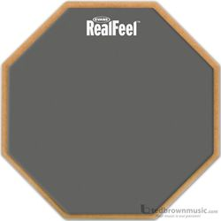 "Evans Practice Pad Real Feel 6"" Double Gum RF6D"