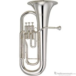 Yamaha YEP201MS Convertible Marching Euphonium Silver Plated