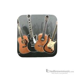 Aim Gifts Coaster Guitars Square Shaped 29846