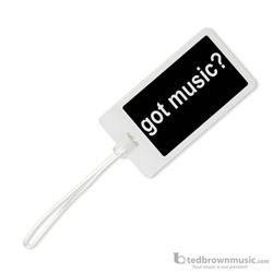 "Aim Gifts I.D. Tag ""Got Music?"" 8555"