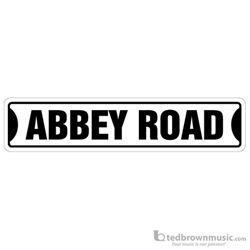 Aim Gifts Street Sign Abbey Road SS75