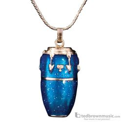 Harmony Necklace Conga Traditional Blue & Silver FPN579SBU