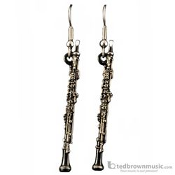 Harmony Earrings Oboe with Black Finish FPE568