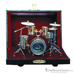 Music Treasures Miniature Drum Set with Case 400081