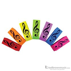 Aim Gifts Eraser G Clef Assorted Colors 3125
