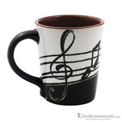 Coffee Mug: Music Notes
