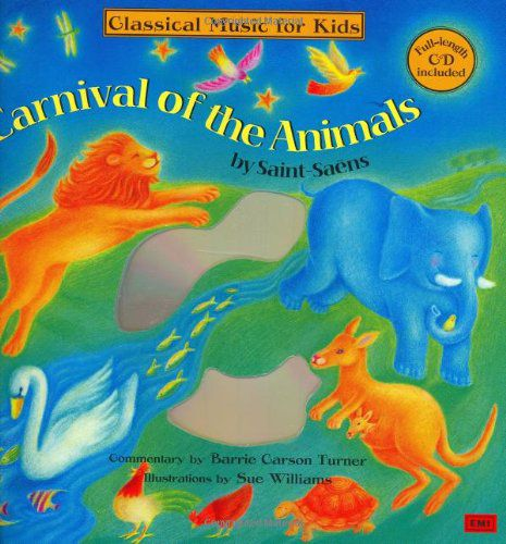 Carnival of the Animals BKCD Hardcover