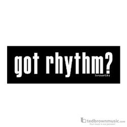 "Music Treasures Bumper Sticker ""Got Rhythm?"" 331202"