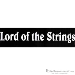 "Music Treasures Bumper Sticker ""Lord of the Strings"" 331203"