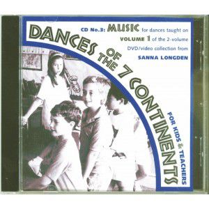 Dances of the Seven Continents #1 CD Music for DVD 6