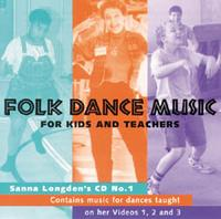Folk Dance Music For Kids and Teachers #1 CD Music for DVDs 1-3