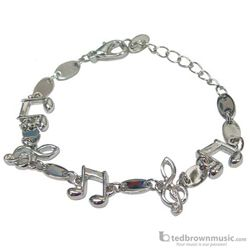 Mayfair Bracelet Clefs & Notes Silver Tone JE62545
