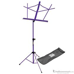 On-Stage Stand Music Compact Folding Purple with Bag SM7122PB