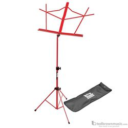 On-Stage SM7122RB Compact Portable Folding Music Stand with Bag