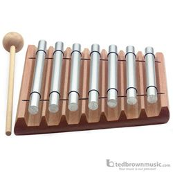 Stagg Table Chimes 7 Note with Mallet TC7