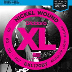 D'Addario Strings Bass Balanced Tension EXL170BT