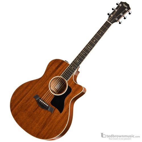 Taylor 526CE All-Mahogany Grand Symphony Cutaway Acoustic-Electric Guitar
