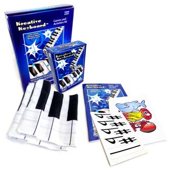Kreative Keyboard Games and Activities Kit