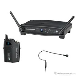 Audio Technica ATW-1101/H92TH System 10 Digital Wireless System with Bodypack & Headset