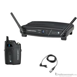Audio Technica ATW-1101/L System 10 Digital Lavalier Wireless System