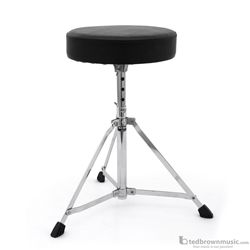 Mapex Drum Throne Rebel Series Single Braced Entry Level 3 Leg Round T200-RB