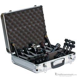 Audix DP7 Dynamic Multipattern Drum Kit Microphone Pack