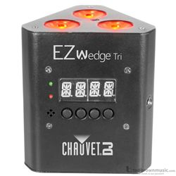 Chauvet DJ Light EZ Wedge TRI Battery Powered