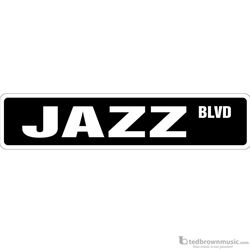 "Music Treasures Sign ""Jazz Blvd"" 730140"