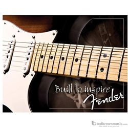 "Fender Sign Collectible ""Built to Inspire"" Tin 999547000"