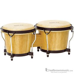 Tycoon Natural Finish Ritmo Series Bongos