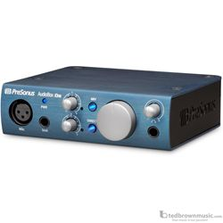 PreSonus Audiobox iOne Portable USB Audio Interface