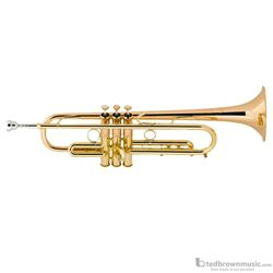 Bach LT190L1B Professional Stradivarius Commercial Series Bb Trumpet Lacquer