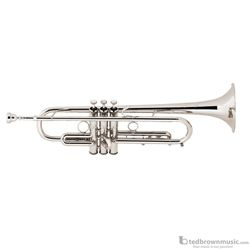 Bach LT190S1B Professional Stradivarius Commercial Series Bb Trumpet Silver