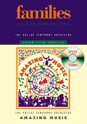 Amazing Music DVD Families of the Orchestra