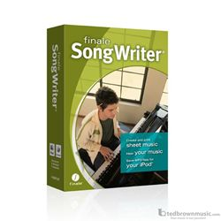 Finale Software Songwriter