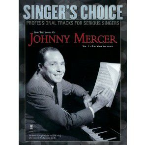 Singer's Choice Johnny Mercer for Male Vocalists Book/CD