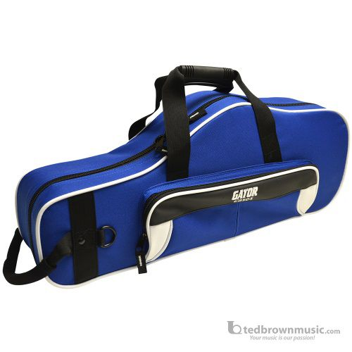 Gator GL-ALTOSAX-WB Lightweight Spirit Series White & Blue Alto Saxophone Case