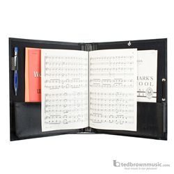 ProTec FSA1E Deluxe Choral Folder with Elastic String Dividers & Adjustable Hand Strap